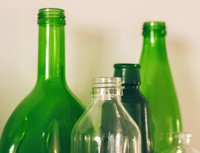 Garrafas para licores - é na Abadia Rural