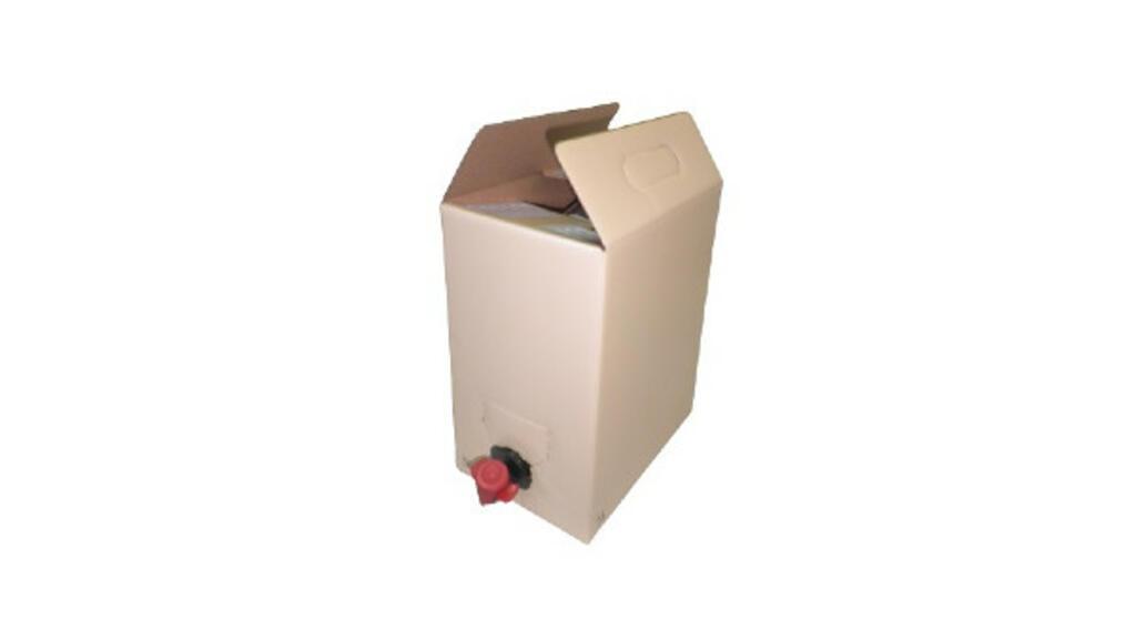Bag-in-box 5 Lt. - bolsa + caixa