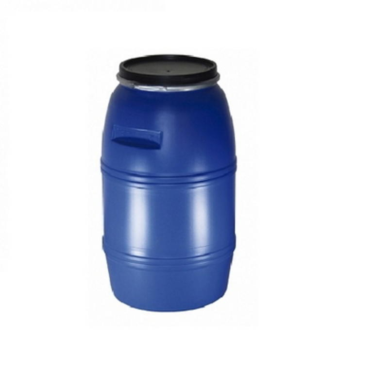 Barrica plástica 240Lt. Azul com cinta