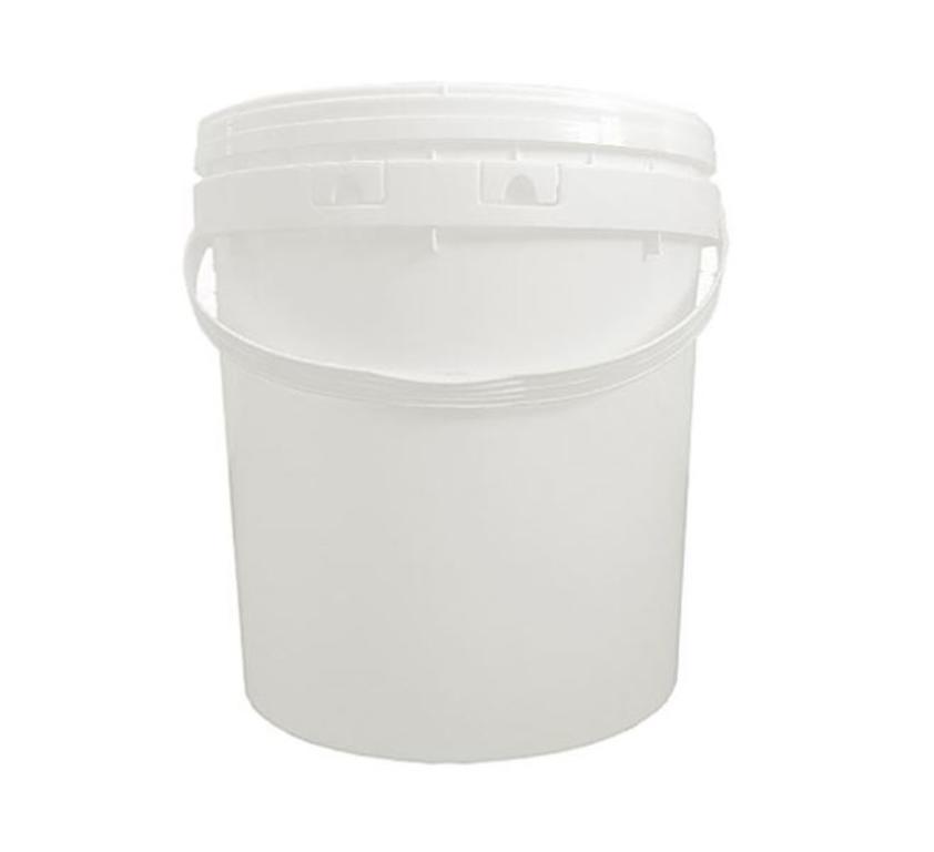 Balde plastico 20 lts c/ tampa hermetica