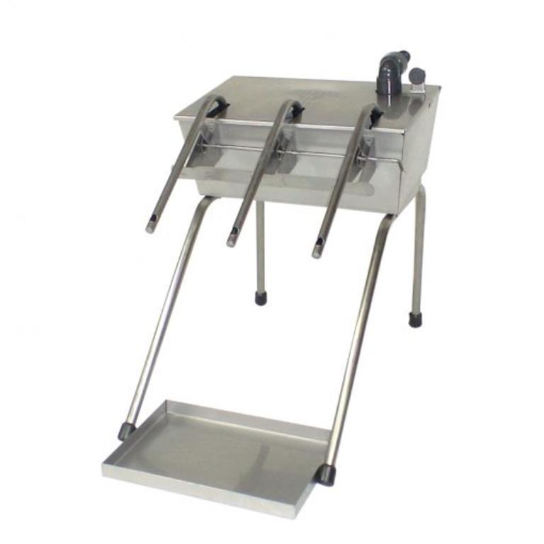 Enchedor automatico com tampa e tabuleiro inox 3 b