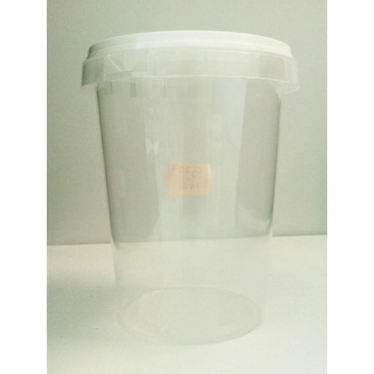 Copo de Plástico c/Tampa hermetica 1/2kg (Mel)