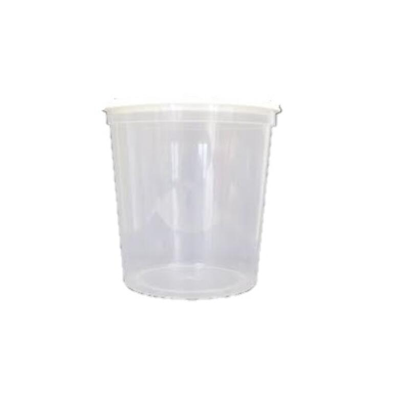 Copo de Plástico com Tampa hermetica 1kg (Mel)