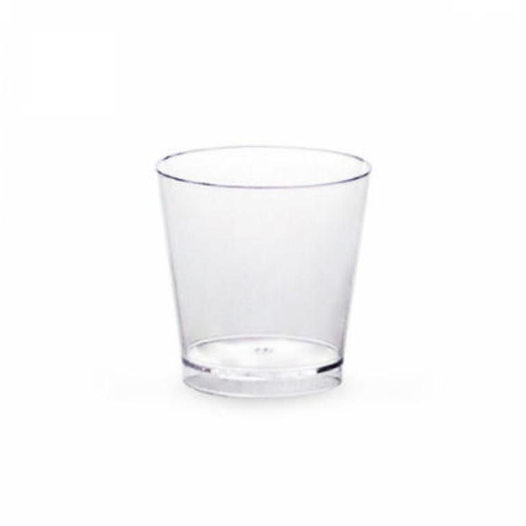 Copo Plástico Shot p/ Provas 20ML