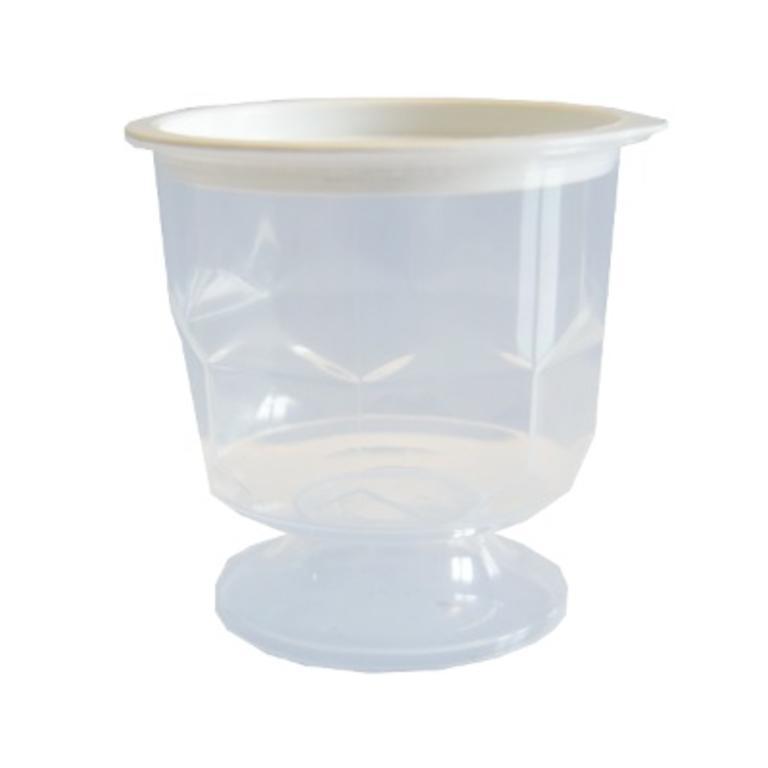 Mini Copo Plástico Mel 30ml