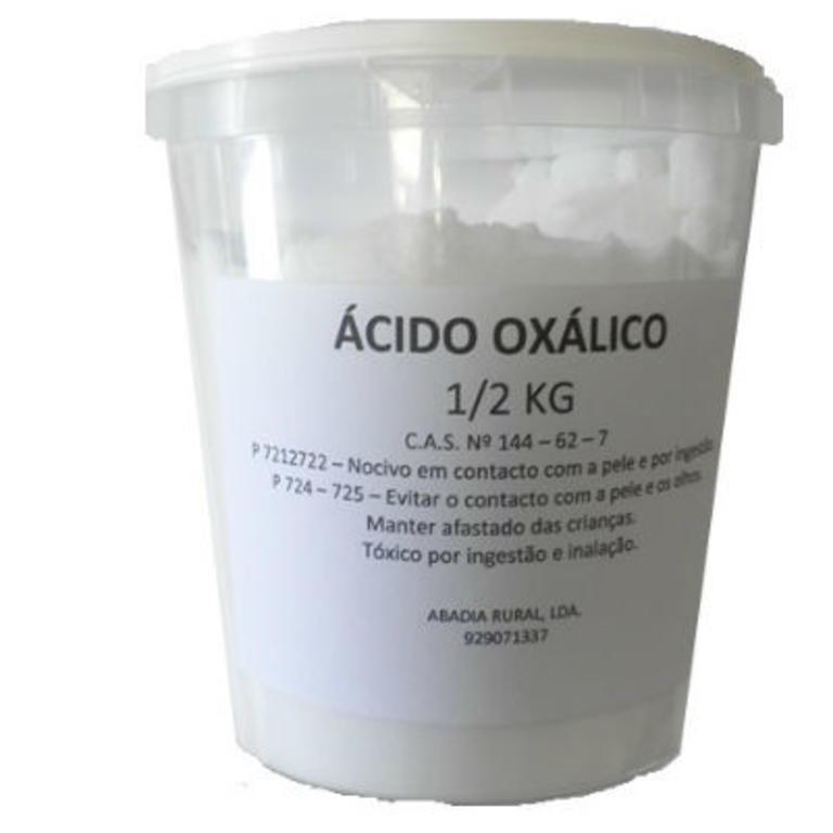 Ácido Oxálico 1/2kg