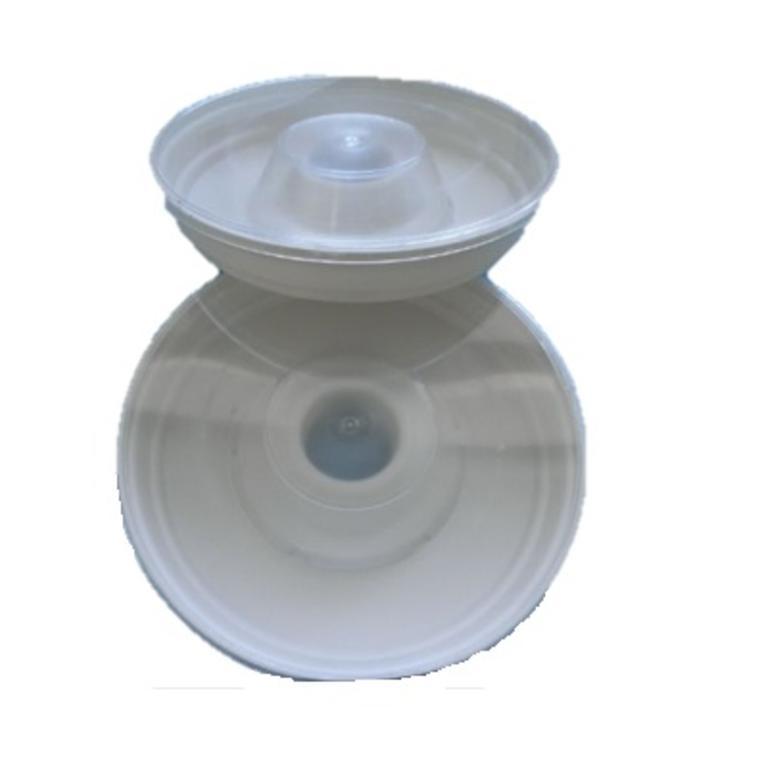 Alimentador plástico p/1Kg baixo