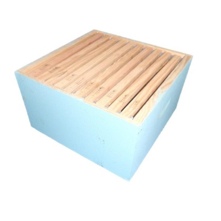 Caixa reversível pintada (10 quadros)