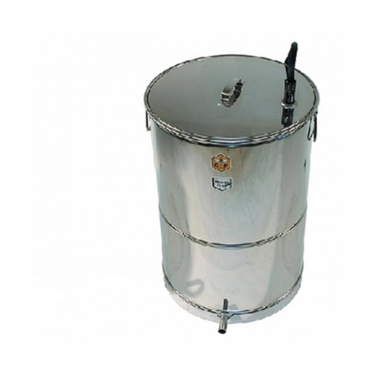 Caldeira a gás p/cozer cera 150 Lit. redonda