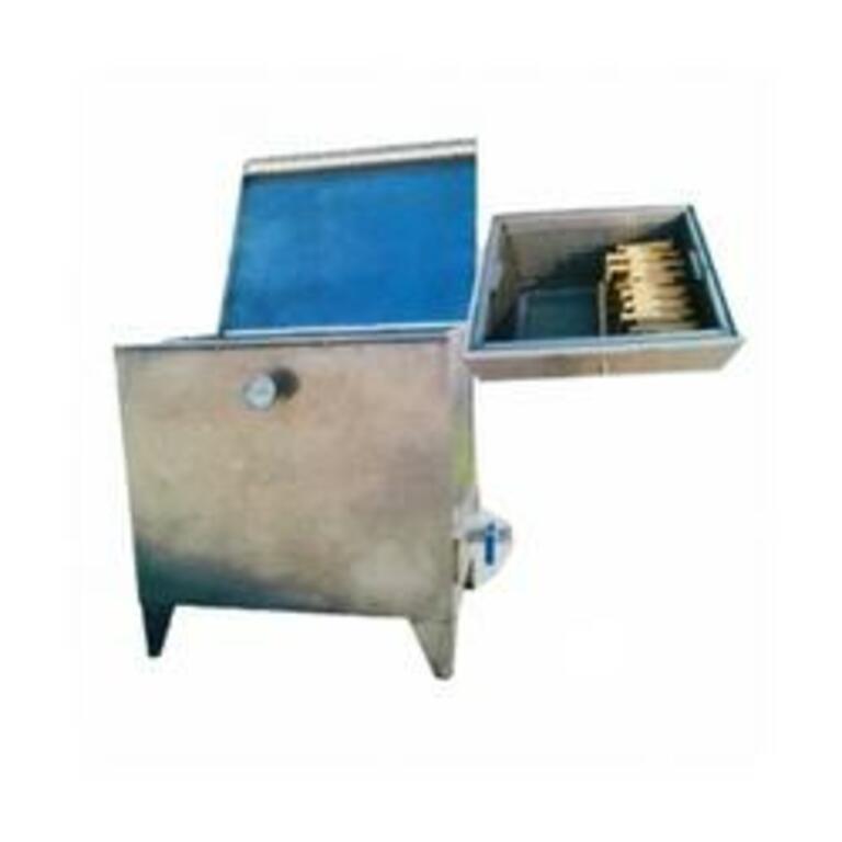 Caldeira a gás p/cozer cera 300-400 Lit. quadr