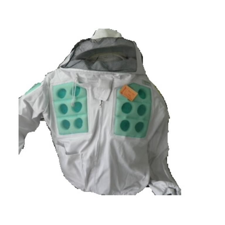 Casaco apicultor pano duplo ventilado verde MAC