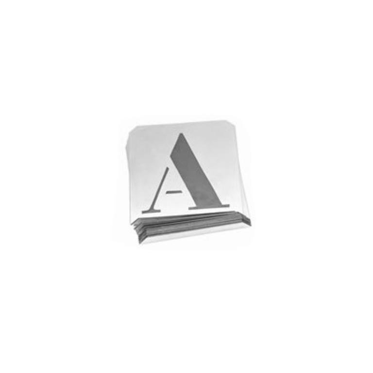 Chapas ABC completo p/ marcação (PED)
