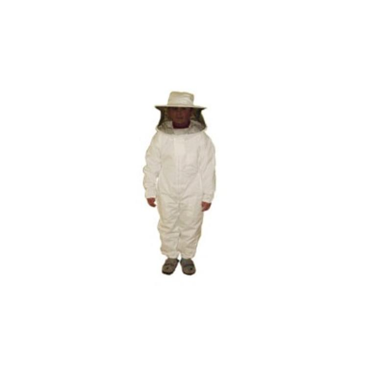 Fato apicultor criança c/máscara redonda nacional