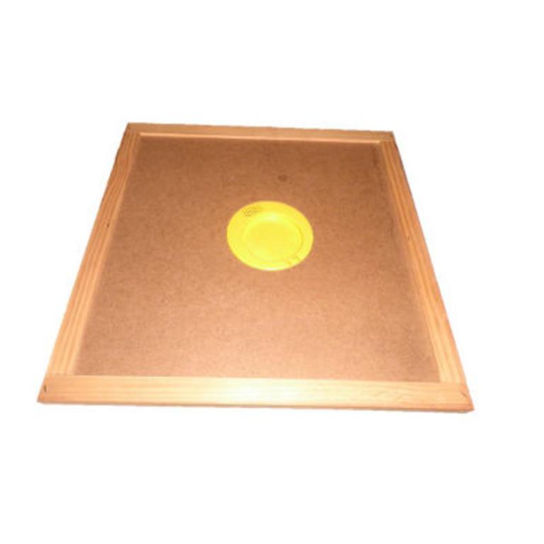 Prancheta em madeira c/esc.ab.2 saídas