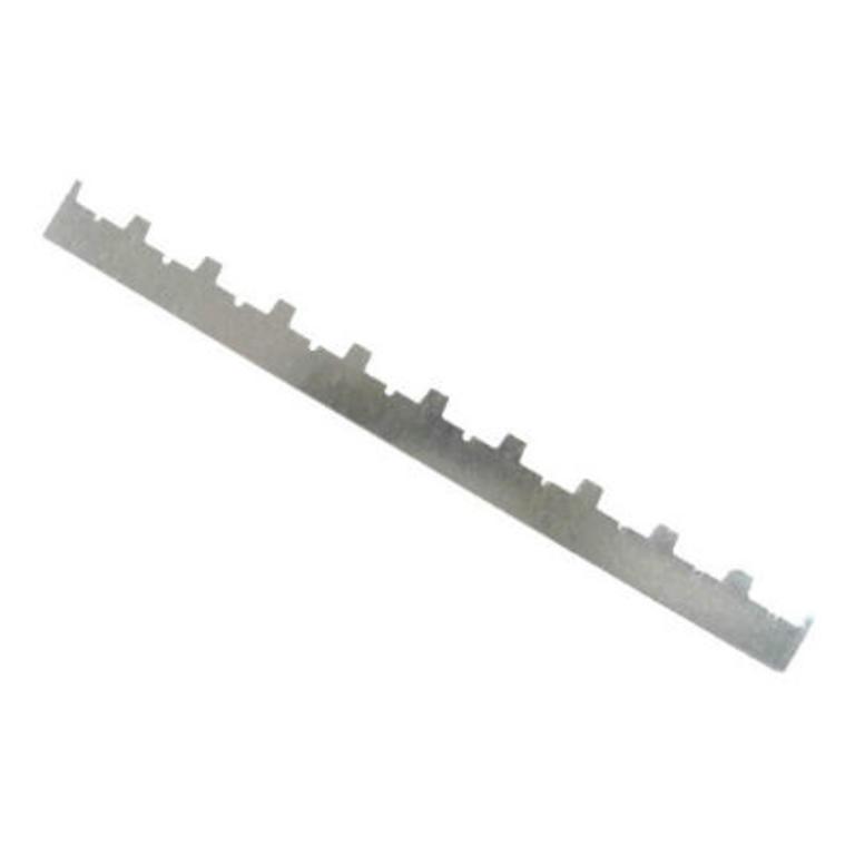 Régua separadora de zinco para 10 quadros