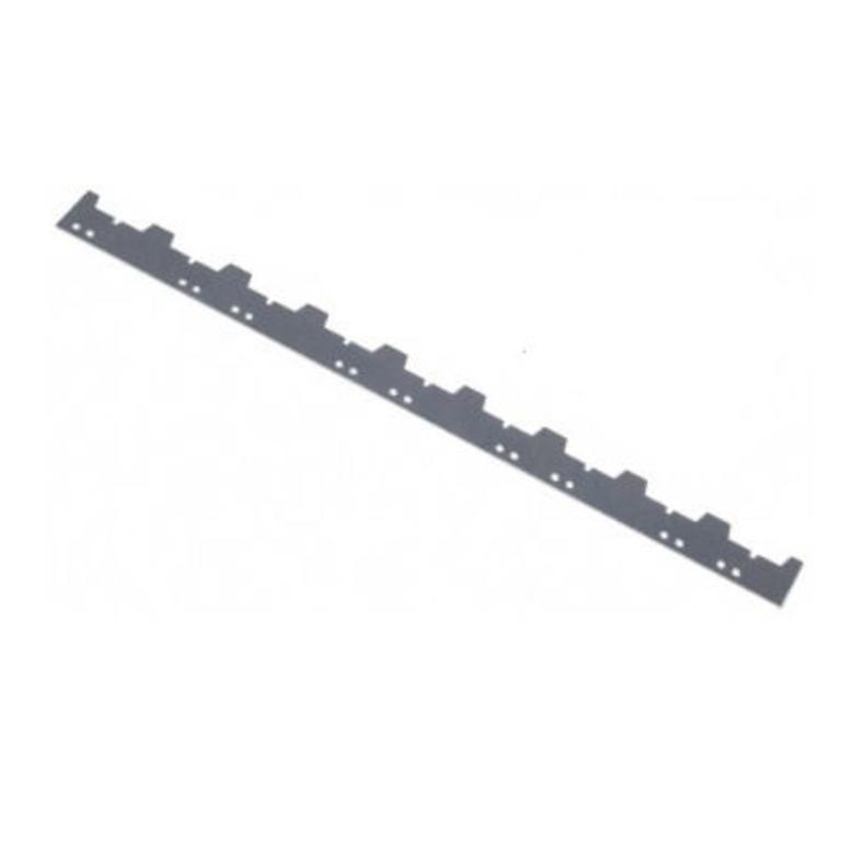 Régua separadora de zinco para 9 quadros