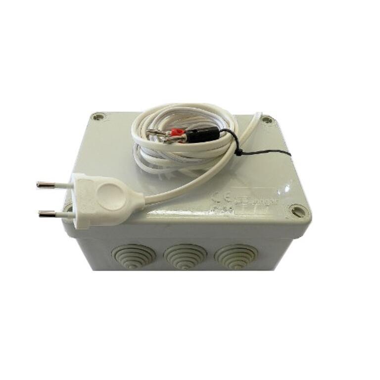 Incrustador eléctrico branco - soldar cera