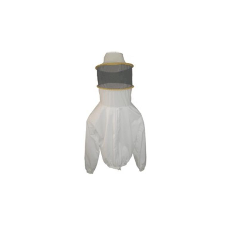 Casaco apicultor s/fecho e máscara redonda M1 (PED