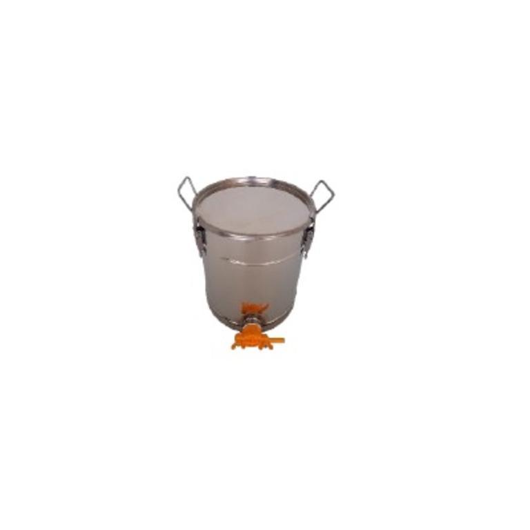 Balde inox c/filtro 30kg
