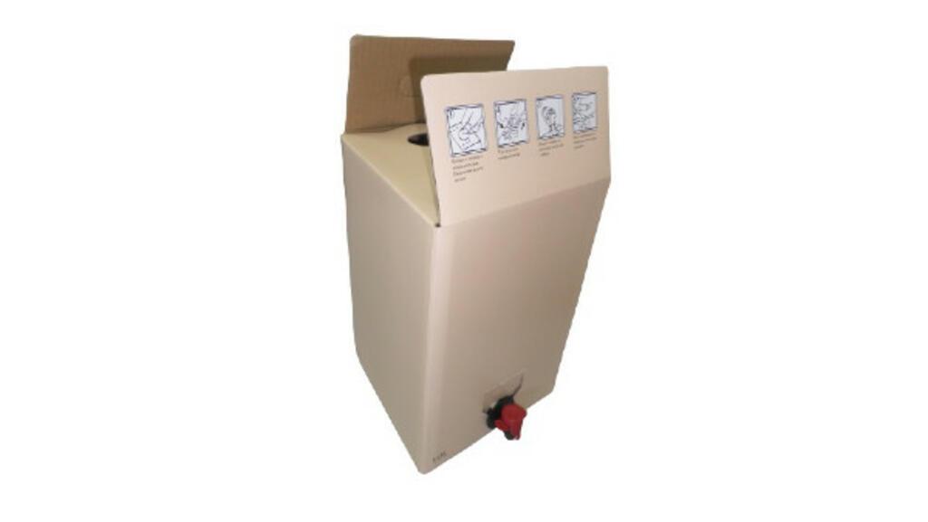 Bag-in-box 10 Lt. - bolsa + caixa