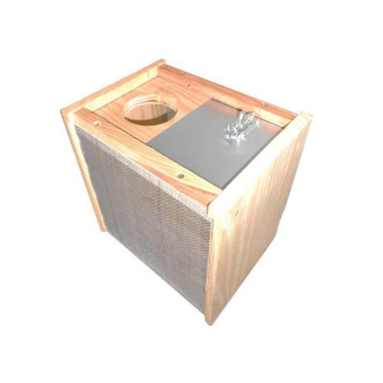 Cx madeira p/paquete de abelhas