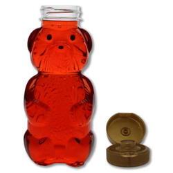 Urso PET 335gr de mel