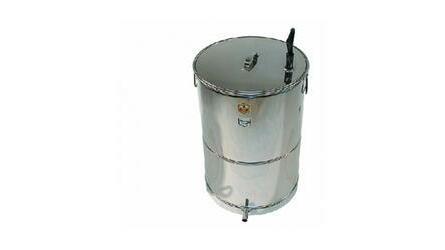 Caldeira a gás p/cozer cera 300-400 Lit.red.