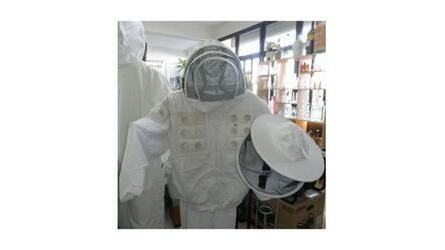 Casaco apicultor pano simples ventilado Cinza