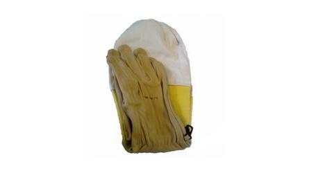 Par luvas de cabedal extra c/ protecção punho SW (