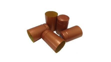 Selo retráctil PVC mini cobre c/ topo