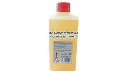 Ácido Lactico a 80% 1/2Lt.