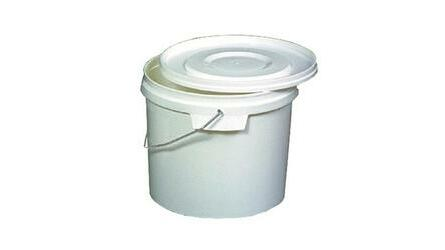 Balde plástico branco s/torneira SW – 5,5 Lt.|;31