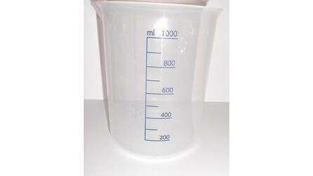 Copo baixo Plástico Grad. 1000ml